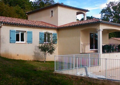 Villa de location vers Vallon-Pont-d'Arc